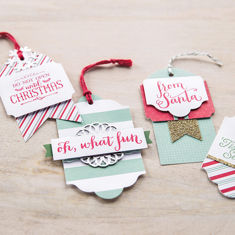 Christmas Tags from Stampin Up