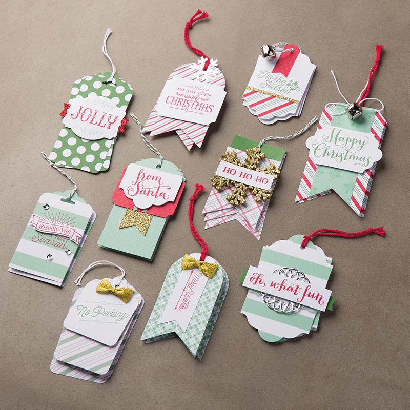 Oh What Fun Christmas Tags