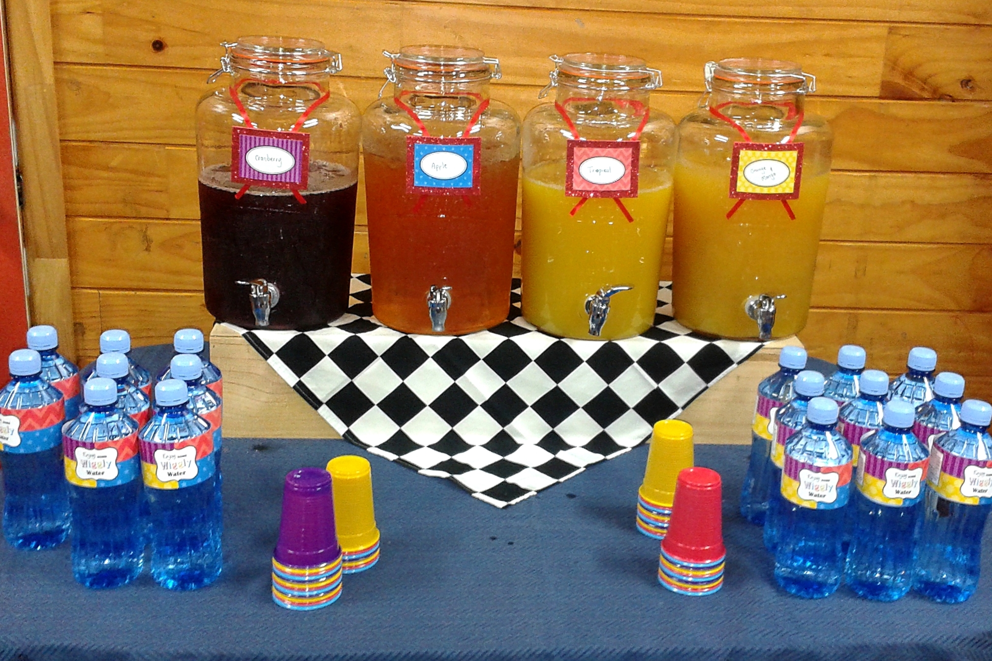 The Wiggles Drinks Station