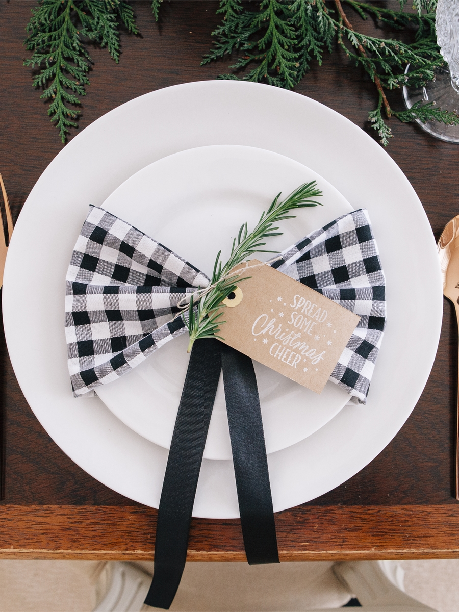 Rustic Place Setting Tag